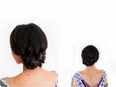 Irrelephant: How To: Braided Side Bun