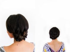 Irrelephant: How To: Braided Side Bun