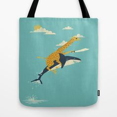 Onward! Tote Bag by Jay Fleck - $22.00 (I need this in my life!)