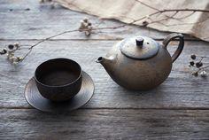 水野幸一さんの銅彩釉 茶ポット/和食器セレクトショップflatto