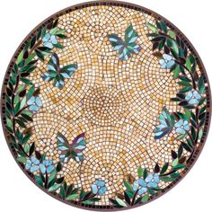 Stained Glass Mosaic Table Tops Butterfly Mosaic Table Top