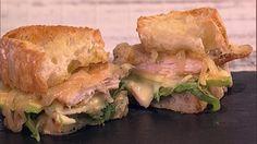 Warm Chicken & Brie Sandwich Recipe | The Chew - ABC.com