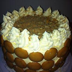 Homemade Banana Pudding Cake