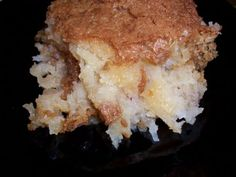 This is spinoff of Paula Deens Gooey Butter Cake. This is very rich and a little goes a long way. I have had her gooey cake from QVC and it is very good. You cant eat much.