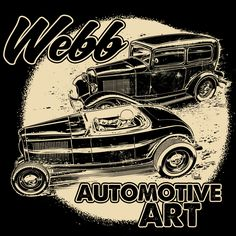 Drawn & Quartered: Webb Automotive Art!