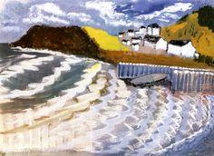 Stormy Sky, Stormy Sea Milton Avery - 1938
