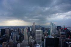 Rain or shine NYC is still beautiful! #rain #downpour #NYC