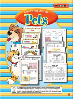 Learning About Pets (Preschool)