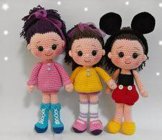 Кукляндия: Куклы. Идеи для вязания