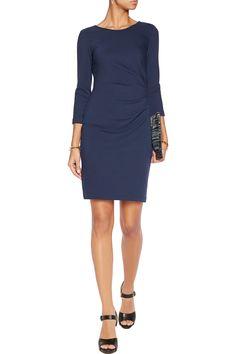 Emmie gathered wool dress - Diane von Furstenberg