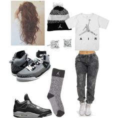 c5adc3ec9e494f Image result for girls jordan swag Teen Girl Outfits
