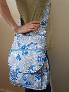 The Pandora Hipster: PDF SEWING PATTERN. von CloudsplitterBags