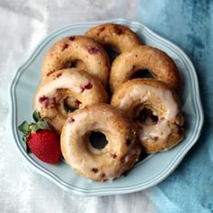 Forget the doughnut shop.  Make these excellent doughnuts at home in less than a half hour!