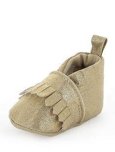 Chaussures à franges                                                                                                                                              doré Bébé fille