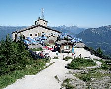 Berchesgarden, Germany -- Hitler's Eagle's Nest-- on a clear day you can see Germany, Austria and France from the top