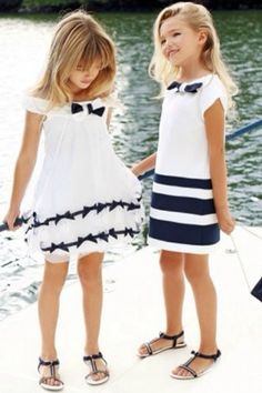 Little Beach Party Girls wearing Lily Pulitzer dresses Fashion Kids, Little Girl Fashion, My Little Girl, Little Girl Dresses, Fashion Games, Trendy Fashion, Lila Baby, Outfits Niños, Little Fashionista