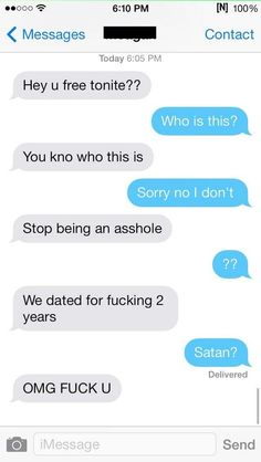This person throwing major shade. | 17 Of The Greatest Responses To An Ex Text Of All Time