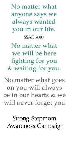 To Amiee and to all the kids who were ripped from loving homes due to a vengeful parent. We will always love you and never forget about you.