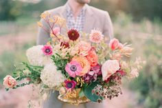 I love flowers like this to have at the wedding