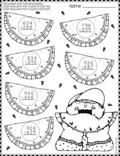Summer Subtraction with Regrouping Color-by-Code Printables Math Practice Worksheets, School Worksheets, Math Activities, Teaching Resources, Bff Christmas Gifts, Math Numbers, Special Education Classroom, Math Stations, Dj Inkers