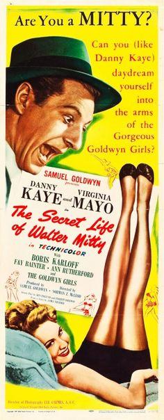 the secret life of walter mitty 1947 movie stills images | The Secret Life of Walter Mitty Movie Poster #3 - Internet Movie ...