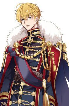 Blonde Hair Anime Boy, Blonde Boys, Anime Hair, Anime Princess, My Princess, Manga Boy, Manga Anime, Romantic Manga, Cute Anime Wallpaper