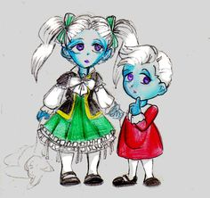 baby Whis ann his sister Vados