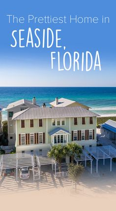 Summer is only a few seasons away! Start booking your Seaside vacation for the best deals. #Seaside #Summer #Florida