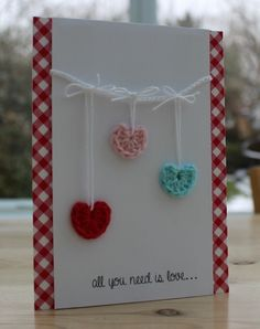 Blush Crafts: CAS Love and a Giveaway...