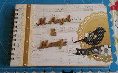 libro de firmas boda scrap