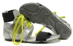 bf7873a68f5 Nike Womens Gladiator Sandals Silver White Yellow Shoe Sites