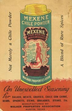 not merely a chile powder...