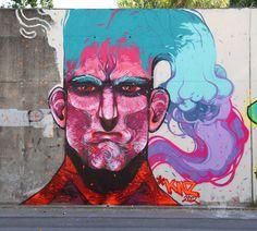 Graffiti Mural - La Llagosta - Barcelona by Aleix Gordo Hostau.