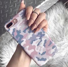 Fundas Protective nude camo iPhone case with a matte finish. Available for iPhone 6 & 7 models. Camo Phone Cases, Iphone Cases For Girls, Iphone Phone Cases, Iphone 7 Plus Cases, Iphone Headphones, Cellphone Case, Iphone Cases Cute, Iphone Charger, Coque Iphone 7 Plus