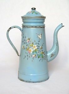 http://www.ebay.com/itm/Enamelware-ANTIQUE-FRENCH-COFFEE-BIGGIN-Butterflies-/180679984143?hash=item2a115dc40f&pt=LH_DefaultDomain_0