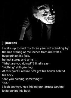 25 Creepiest Things Kids Have Told Their Parents - Team Jimmy Joe