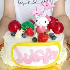 Ciasto w 5 minut, czyli banoffee pie - Primi Piatti Banoffee Pie, Hello Kitty, Food And Drink, Birthday Cake, Birthday Cakes, Cake Birthday