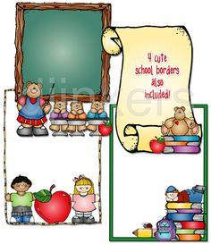 free clip art for teachers Classroom Clipart, Classroom Ideas, Teaching Strategies, Teaching Ideas, School Border, Borders And Frames, School Frame, Teacher Tools, Art Education