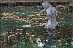 Im Schlosspark Hellbrunn Garden Sculpture, Outdoor Decor, Home Decor, Water, Decoration Home, Room Decor, Home Interior Design, Home Decoration, Interior Design