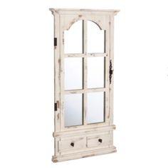 vintage inspired cabinet mirror #Kirklands #vintagechic