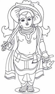 Dashavatar or dashavatara refers to the ten avatars of Lord Vishnu to restore the eradicate evil from earth and to restore the Dharma. Mysore Painting, Kerala Mural Painting, Tanjore Painting, Krishna Painting, Indian Art Paintings, Krishna Art, Krishna Images, Outline Drawings, Cute Drawings