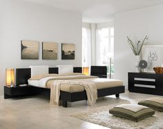Modern Chic Bed Give Your Bedroom a Contemporary Look bedroom designs
