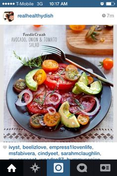 Super simple vegan salad...almost lazy lol