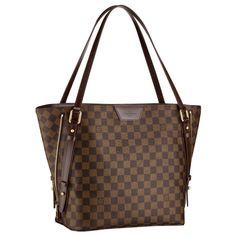 Discount Shoulder Bags And Totes Damier Ebene Canvas Louis Vuitton Cabas  Rivington Brown fe31ec8445