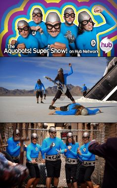 "Interview with The Aquabats About their ""Super Show!"""