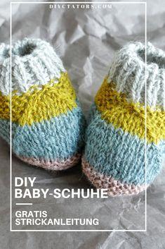 Baby Hats Knitting, Knitting For Kids, Baby Knitting Patterns, Free Knitting, Knitting Projects, Diy Knitting Needle Case, Diy Knitting Needles, Kids Socks, Baby Socks