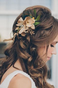 Boho Wedding Hairstyles For Long Hair