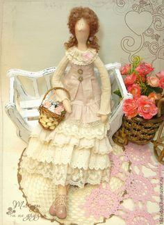 Купить Кукла в стиле Бохо: Лисса - тильда, кукла Тильда, куклы тильды…