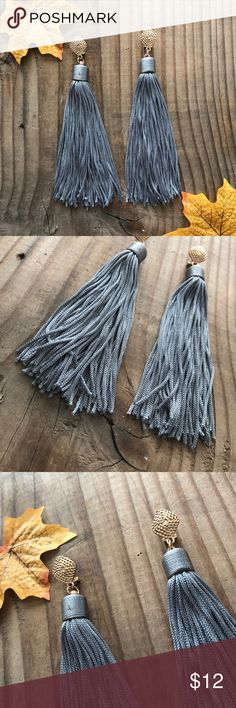 "🆕Asian Style inspired Tassel Earrings * Asian Style inspired Tassel Earrings with gold clip.   * 0.7 X 5.2"" Approx.  🔺Firm price🔺 Jewelry Earrings"