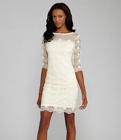 Available at Dillards.com #Dillards  What about this for a Homecoming dress? (Sam comment plz ;P)